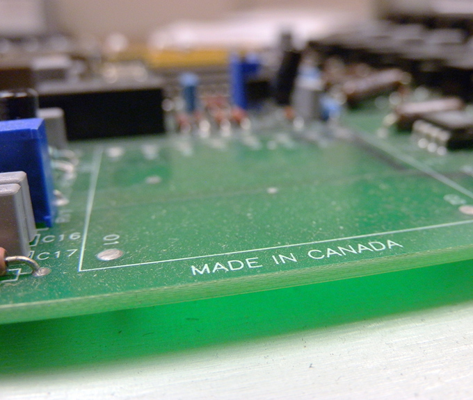 Made In Canada Circuit Board